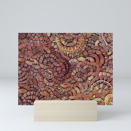Pencil shavings II Mini Art Print