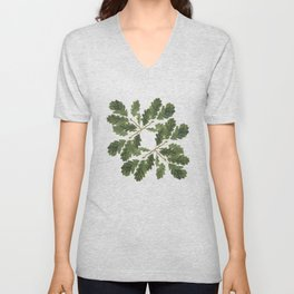 Oak leaf ensemble Unisex V-Neck