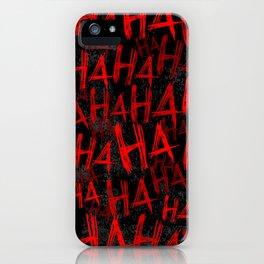Hah iPhone Case
