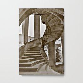 Sand stone spiral staircase 11 Metal Print
