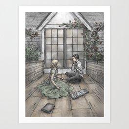 Kay and Gerda Art Print