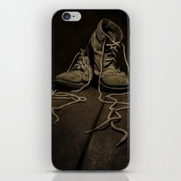 Old Brown Shoes iPhone Skin