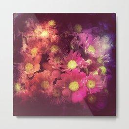 Flowers for someone / Vintage Flowers Metal Print