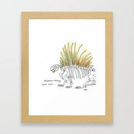 Earth Reptile Framed Art Print