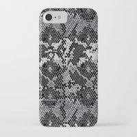monty python iPhone & iPod Cases featuring Speckled Python by Angela M. Designs