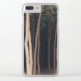 The Slender Man Clear iPhone Case