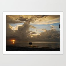 Mombasa Sunrise Art Print