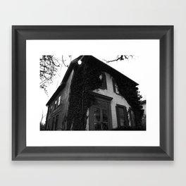 Just a house. Framed Art Print