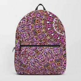 Colorful Spiritual Garden Mandala Backpack