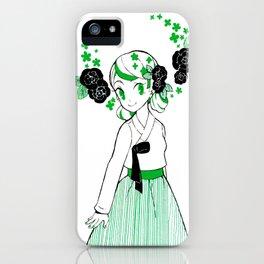 Jade Hanbok iPhone Case