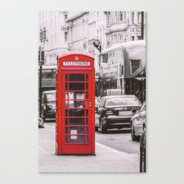 Phony in Red Canvas Print
