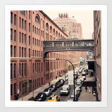 NYC From the High Line Art Print