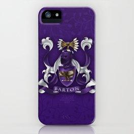 Hawk eye Coat of Arms iPhone Case