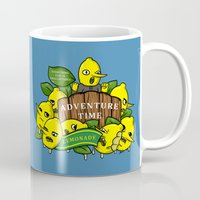 lemongrab Mugs featuring Lemongrab's Acceptable Lemonade  by BlacksSideshow
