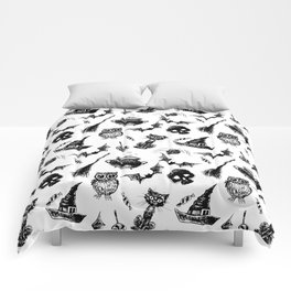 Halloween pattern design Comforters