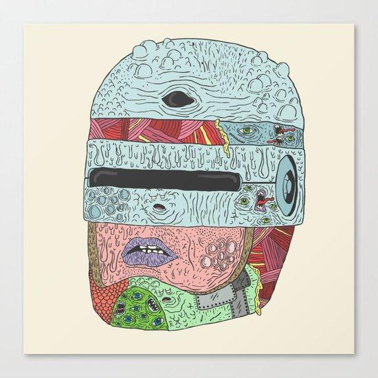 Gorebocop Canvas Print