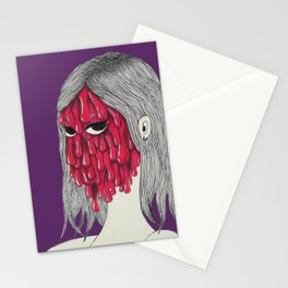 Gooey girl Stationery Cards