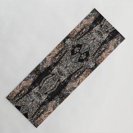Pine Tree Bark Pattern Yoga Mat