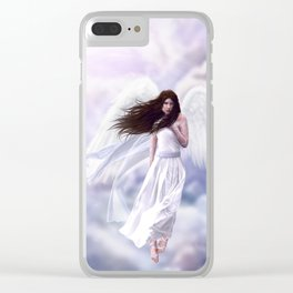 Some Clouds Have Wings Clear iPhone Case