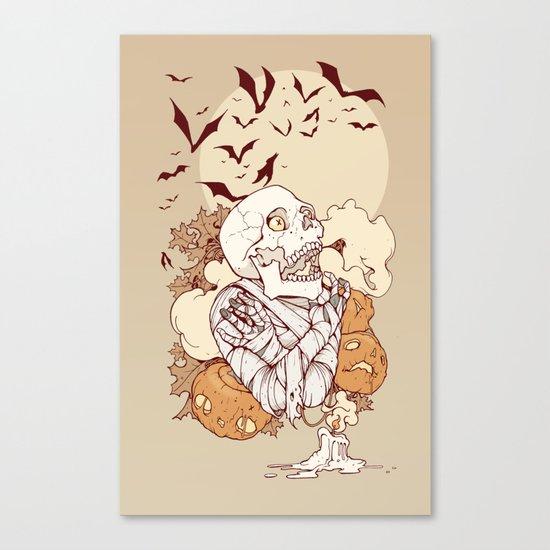Mummy's Curse Canvas Print