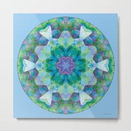 Mandalas of Healing and Awakening 10 Metal Print