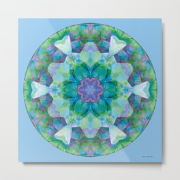 Mandalas of Healing and Awakening 10 Metal Print