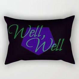 Well, well Rectangular Pillow