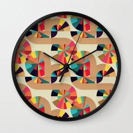 Kaleidoscope Pattern Wall Clock