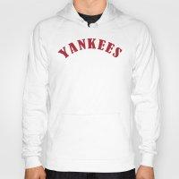 yankees Hoodies featuring Boston Yankees by jekonu