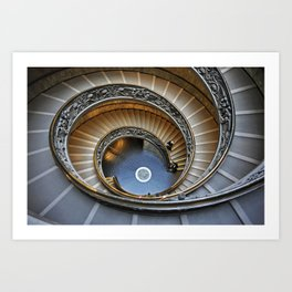 Musei Vaticani Art Print