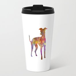 Italian Greyhound in watercolor Travel Mug