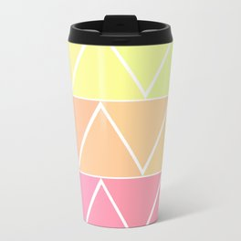 Triangle Pattern 2.0! Metal Travel Mug