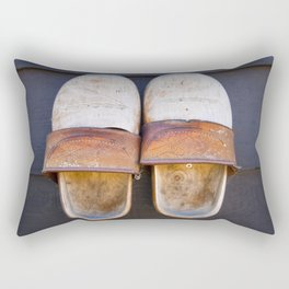 Typical dutch clogs Rectangular Pillow