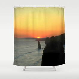 Sunsetting over the Great Southern Ocean Shower Curtain