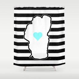 Love Floats Shower Curtain