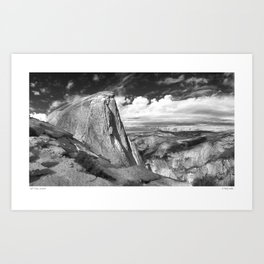Half Dome at Yosemite Art Print