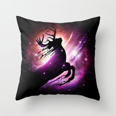 Black Hole Escape Throw Pillow