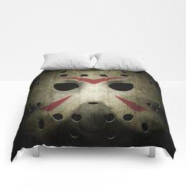 Slasher Hockey Mask Comforters