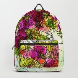 Dog-Rose. Autumn. Backpack