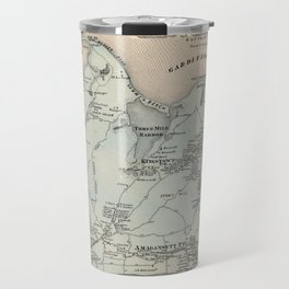 Map of East Hampton 1873 Travel Mug