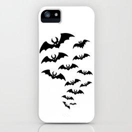 Bat Swarm iPhone Case