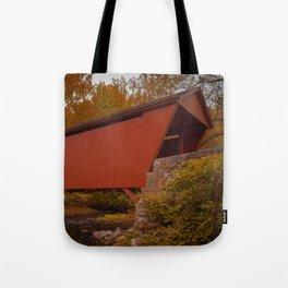 Walls of Jericho Bridge Tote Bag