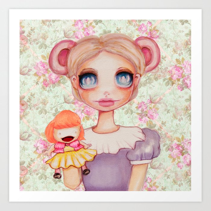 Puppeteer Mouse Art Print