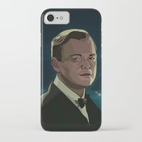 the great gatsby iPhone & iPod Cases featuring The Great Gatsby by Vito Fabrizio Brugnola