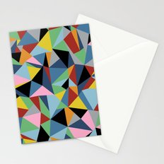 Ab Repeat Black Stationery Cards