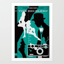 Hardboiled :: The Big Sleep :: Raymond Chandler Art Print