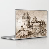 castle Laptop & iPad Skins featuring Castle by Bunny Noir