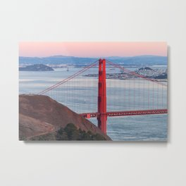 Evening at Golden Gate Metal Print