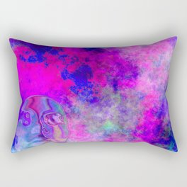 Abstract Space Face 3 Rectangular Pillow
