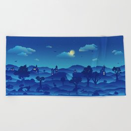 Fairytale Dreamscape Beach Towel